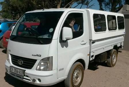 New vehicle: Thank you Rotary Club Tygerberg & Tata Oostenberg